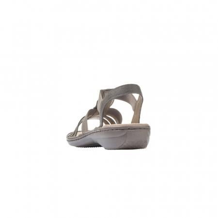 Sandale dama elegante, piele ecologica, 608G9-6