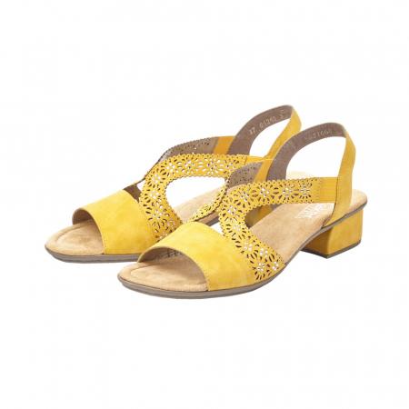 Sandale dama elegante, piele ecologica, RIK V6216-683