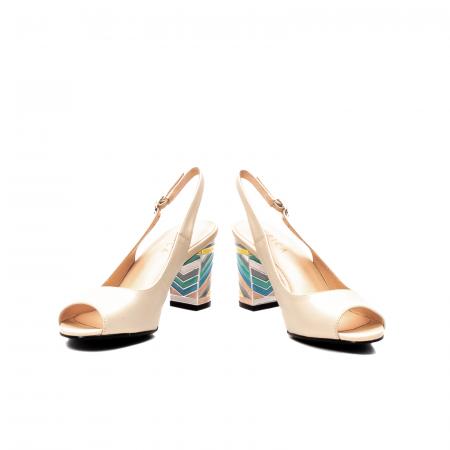 Sandale dama elegante, piele naturala, EP C679H4
