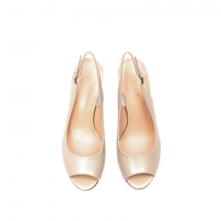 Sandale dama elegante, piele naturala, EP C679H5