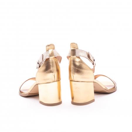 Sandale dama LFX  128 auriu box sidef5