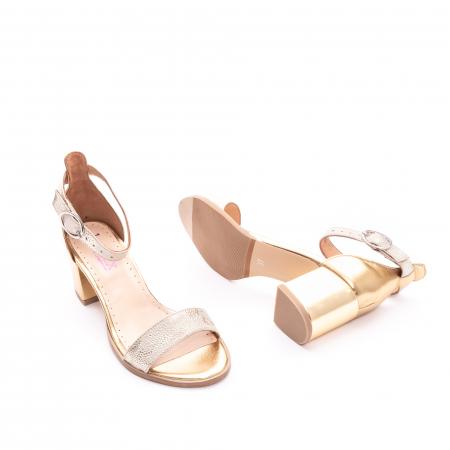 Sandale dama LFX  128 auriu box sidef2