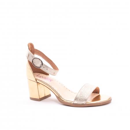 Sandale dama LFX  128 auriu box sidef0