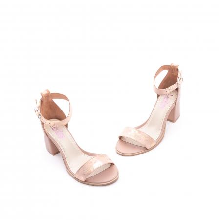 Sandale dama LFX 128 nude1