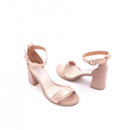 Sandale dama LFX 128 nude3