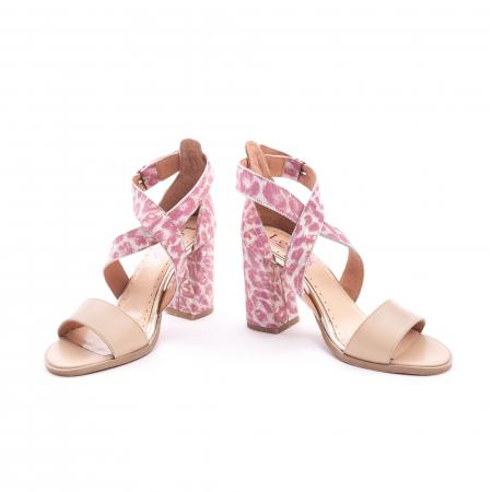 Sandale dama  LFX 139  nude roze4