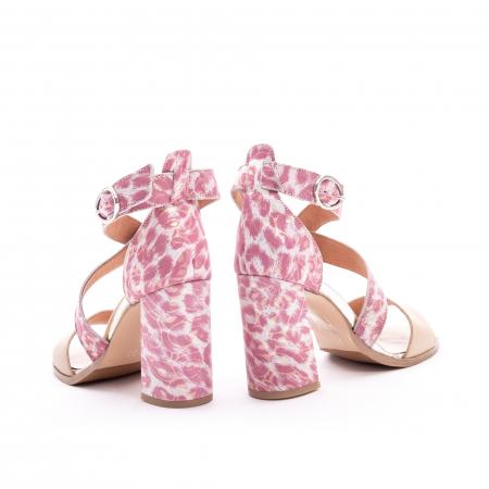 Sandale dama  LFX 139  nude roze6