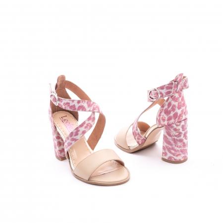 Sandale dama  LFX 139  nude roze3