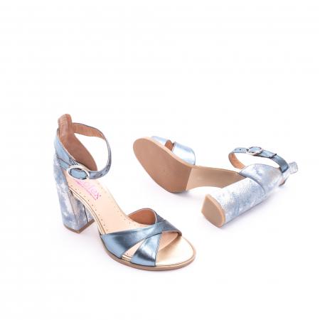 Sandale dama  LFX 148 blue sidef2