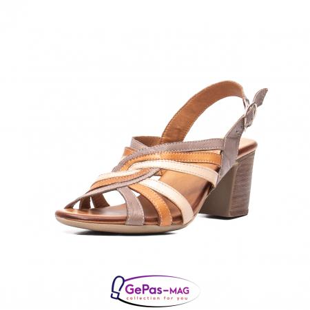 Sandale dama, piele naturala, 09030 H60