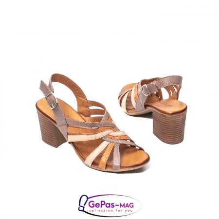 Sandale dama, piele naturala, 09030 H62