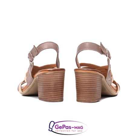 Sandale dama, piele naturala, 09030 H66