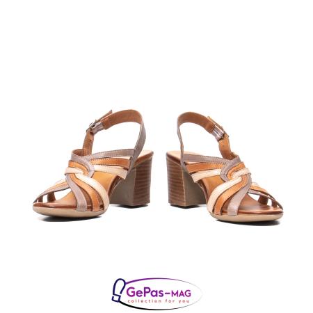 Sandale dama, piele naturala, 09030 H64