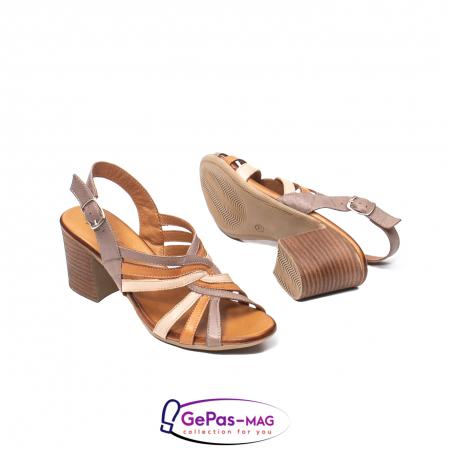 Sandale dama, piele naturala, 09030 H63