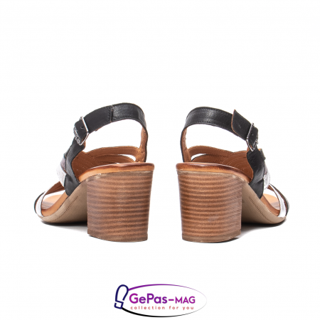 Sandale dama, piele naturala, 09030 L26