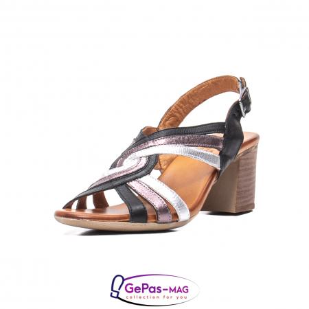 Sandale dama, piele naturala, 09030 L20