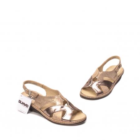 Sandale dama, piele naturala, SU0900 Paris1