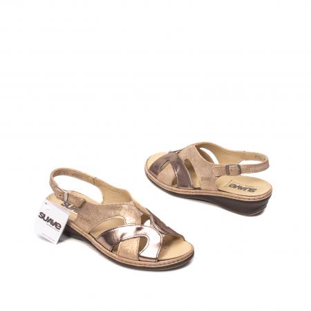 Sandale dama, piele naturala, SU0900 Paris2