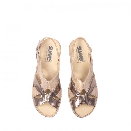 Sandale dama, piele naturala, SU0900 Paris5