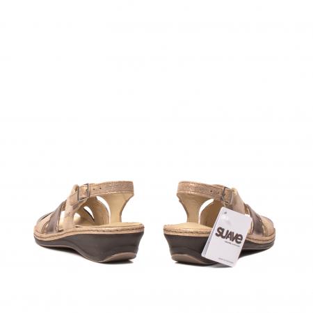 Sandale dama, piele naturala, SU0900 Paris6