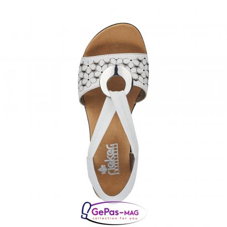 Sandale elegante dama piele naturala, 64677-804