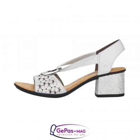Sandale elegante dama piele naturala, 64677-803