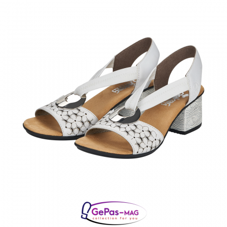 Sandale elegante dama piele naturala, 64677-806