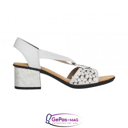 Sandale elegante dama piele naturala, 64677-801