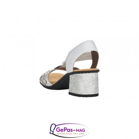 Sandale elegante dama piele naturala, 64677-802