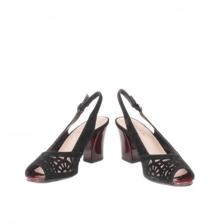 Sandale dama elegante, piele naturala, EP 4F8114
