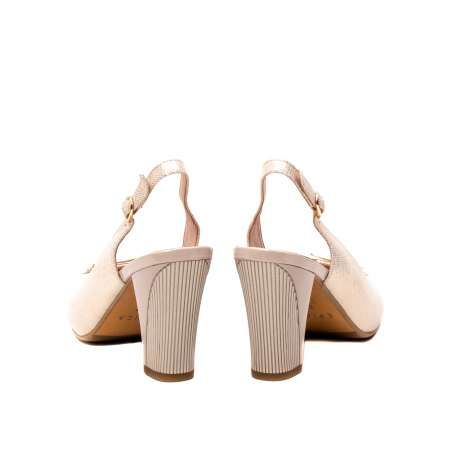 Sandale dama elegante, piele naturala, EP Y074T6
