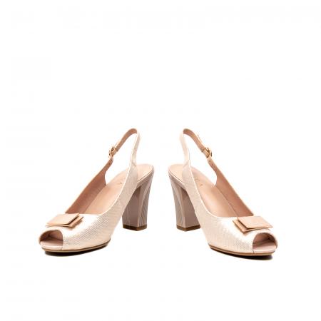 Sandale dama elegante, piele naturala, EP Y074T4