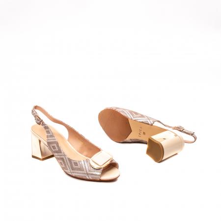 Sandale dama elegante, piele naturala, EP HM1F1204, nude3
