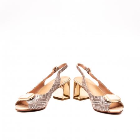 Sandale dama elegante, piele naturala, EP HM1F1204, nude4