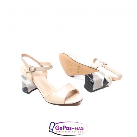 Sandale elegante dama, piele naturala naplac, B218J426-6312 [3]