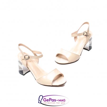 Sandale elegante dama, piele naturala naplac, B218J426-6312 [1]