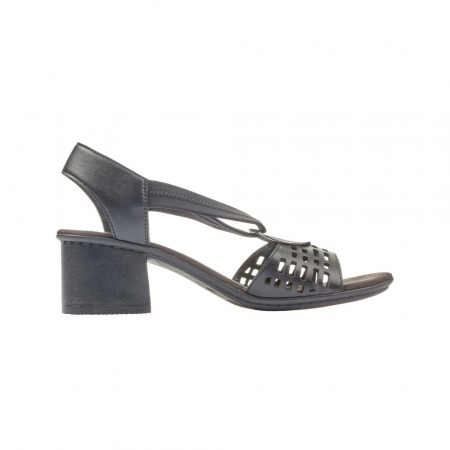 Sandale dama elegante, piele naturala, RIK 64675-003