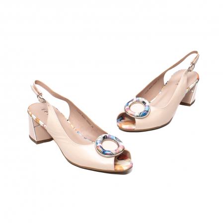 Sandale elegante dama, piele naturala, Y002BT [1]