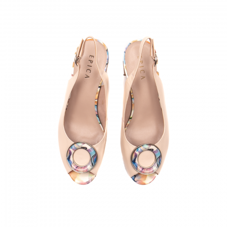 Sandale elegante dama, piele naturala, Y002BT [5]