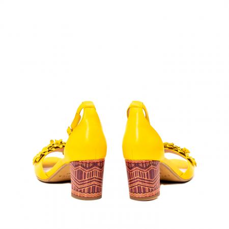 Sandale dama elegante, piele naturala, Y137T6