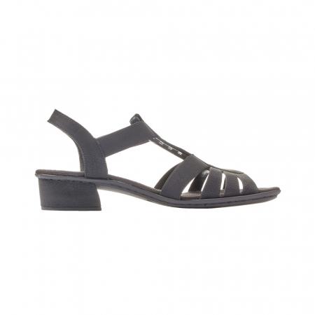 Sandale dama elegante, piele ecologica, RIK V6264-004