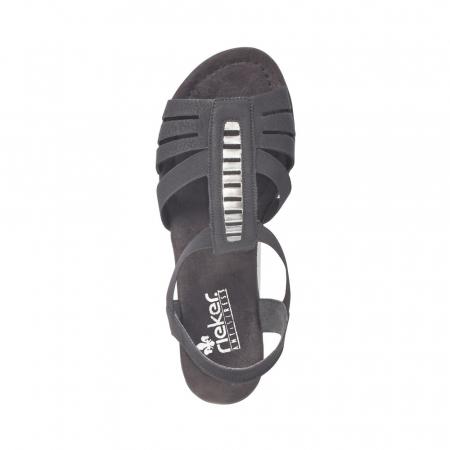 Sandale dama elegante, piele ecologica, RIK V6264-005