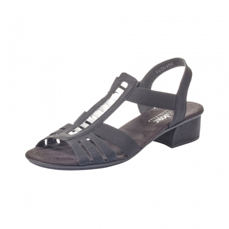 Sandale dama elegante, piele ecologica, RIK V6264-000