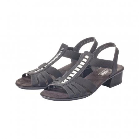Sandale dama elegante, piele ecologica, RIK V6264-003