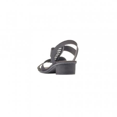 Sandale dama elegante, piele ecologica, RIK V6264-001
