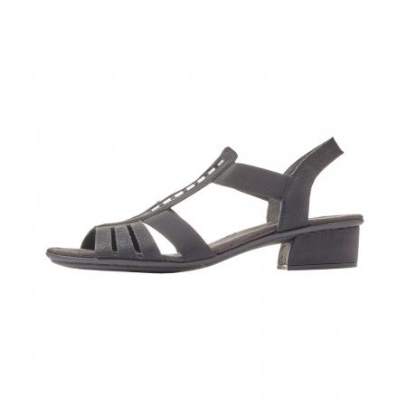 Sandale dama elegante, piele ecologica, RIK V6264-002