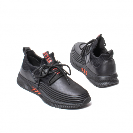 Sneakers barbati, piele naturala, J22033-1 [2]