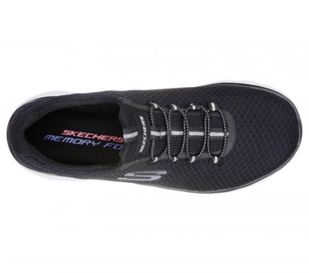Pantofi sport dama Sneakers Summites 12980 BKW2