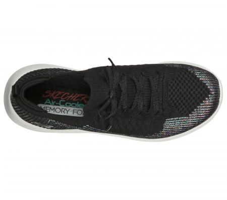 Pantofi sport dama Sneakers Ultra Flex ,laser focus 149064 BKSL1