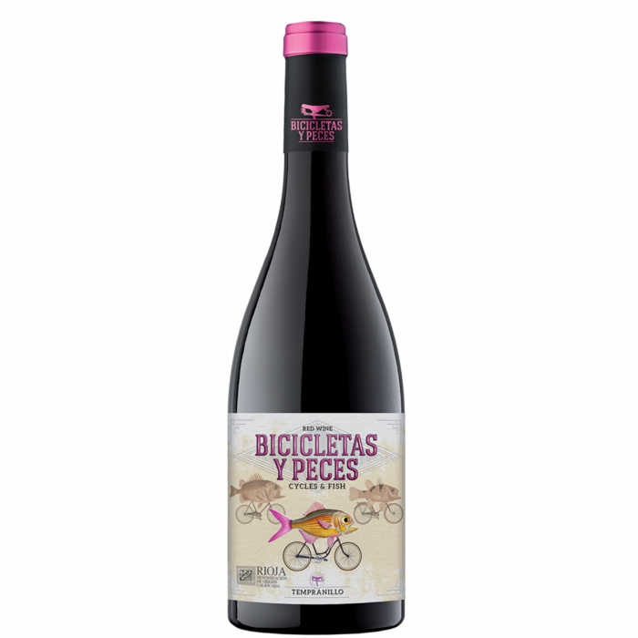 Vin Rosu Bicicletas Y Peces Rioja Tinto, An 2018, Family Owned Wineries, 0.75l [0]